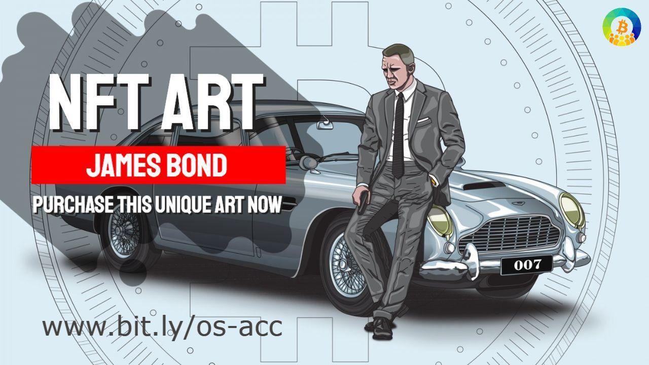 James Bond Nft Art In 2021 Old Technology Classic Aston Martin Aston Martin Db5