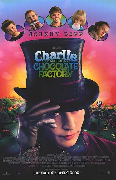 Charlie The Chocolate Factory Johnny Depp Movies Chocolate Factory Good Movies