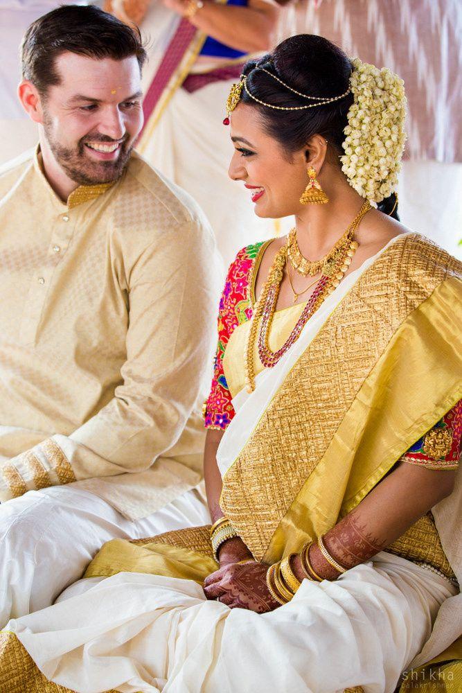 c63fe559fa Kerala weddings | South Indian Weddings | Wedding, Hindu bride ...