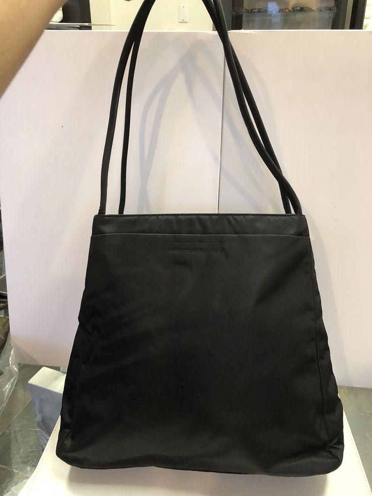 97caf9478854 Prada Nylon Handbag In Black@ebay @pinterest #designer #product #canvas  #wearsprada #leatherhandbag
