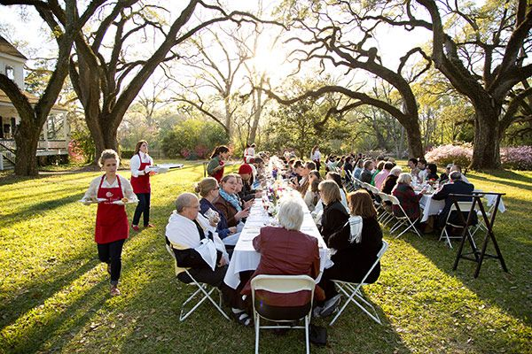 Dinner in a Field Hosted by Slow Food in Baton Rouge