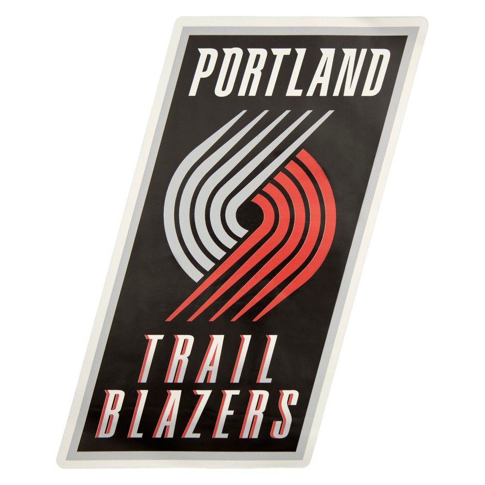 NBA Portland Trail Blazers Large Outdoor Logo Decal