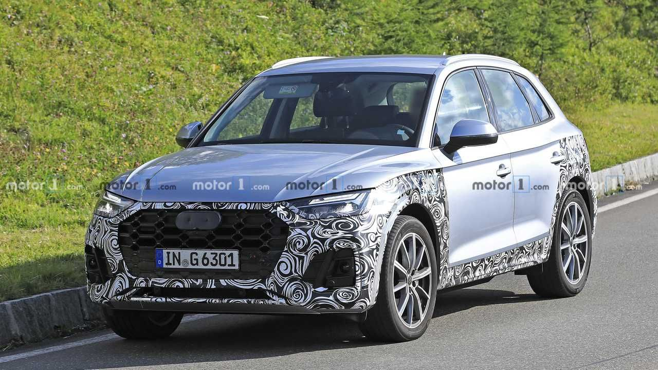 2021 Audi Q5 Facelift Spied Wanting Fashionable In Silver Audi Q5 Audi New Audi Car