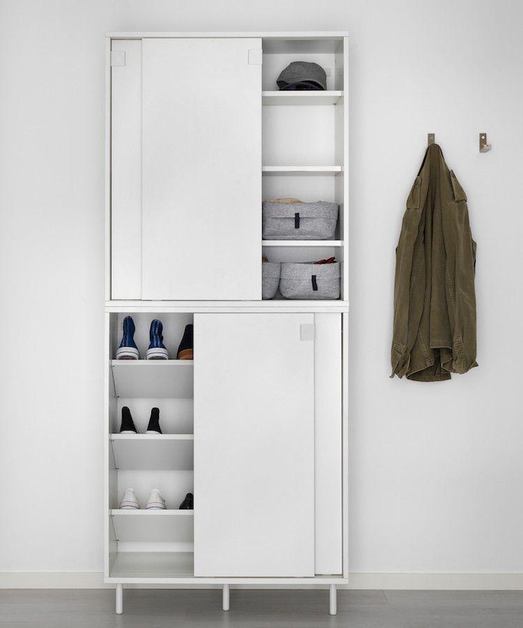 Meuble à chaussures de marque ou une solution alternative artistique ? - Armoire Ikea Porte Coulissante