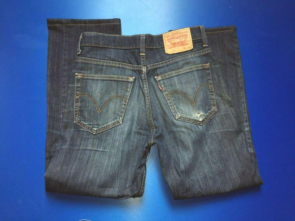 Details about Tommy Hilfiger Denim Jeans Low Rise Boots Medium Wash Vintage 32
