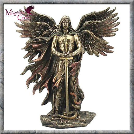 Archangel Metatron Bronze Angel Statue by Pacific Giftware