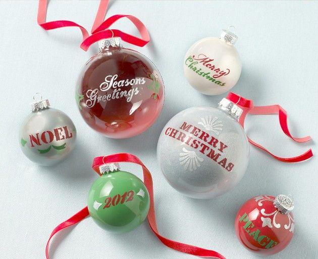 Ornament DIY Christmas Ideas