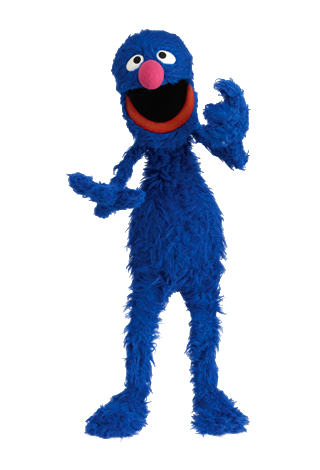 Grover | For the love of crochet | Sesame street muppets