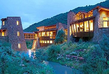 So cool house built into the mountains houses House built into mountain