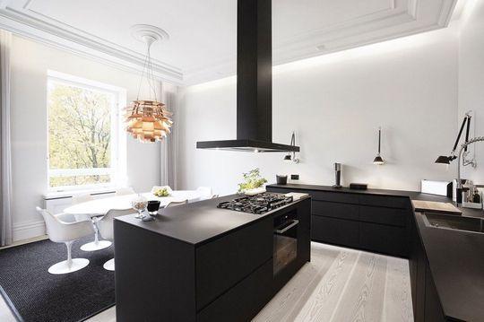 35 cuisines ouvertes façon design Cuisine ouverte, Ouvert et Diaporama