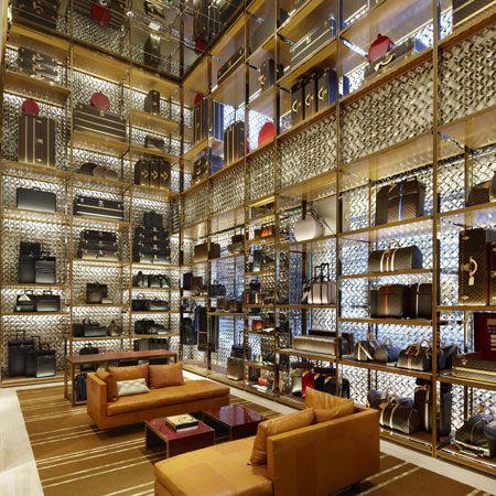 Louis Vuitton Maison by Peter Marino #retail #interiordesign
