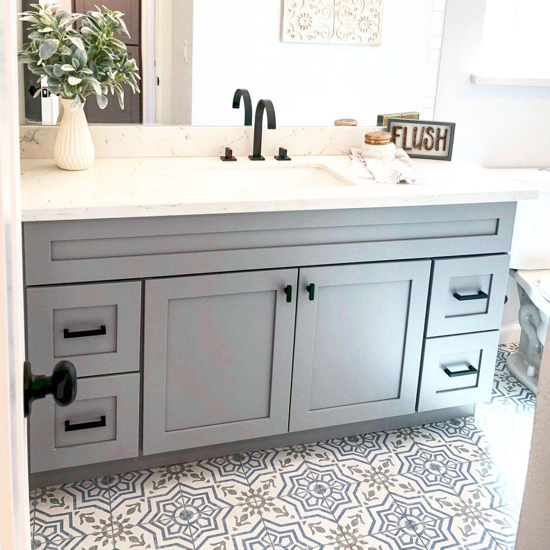 I Love A Good Master Bathroom Remodel, But A Hall Bathroom