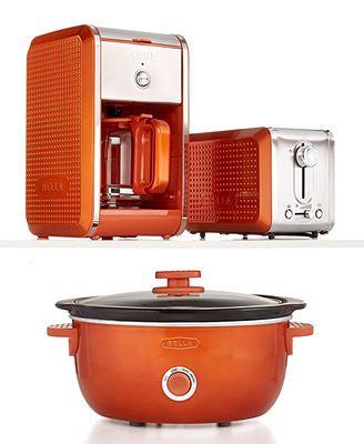 Bella Dots Kitchen Electrics Collection Love This In Orange Kitchen Kitchen Appliances Small Kitchen Appliances