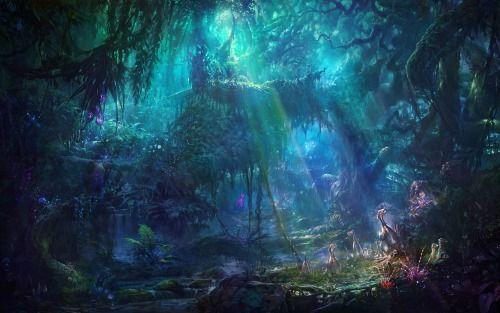 Hidden Glade by Ming Fan