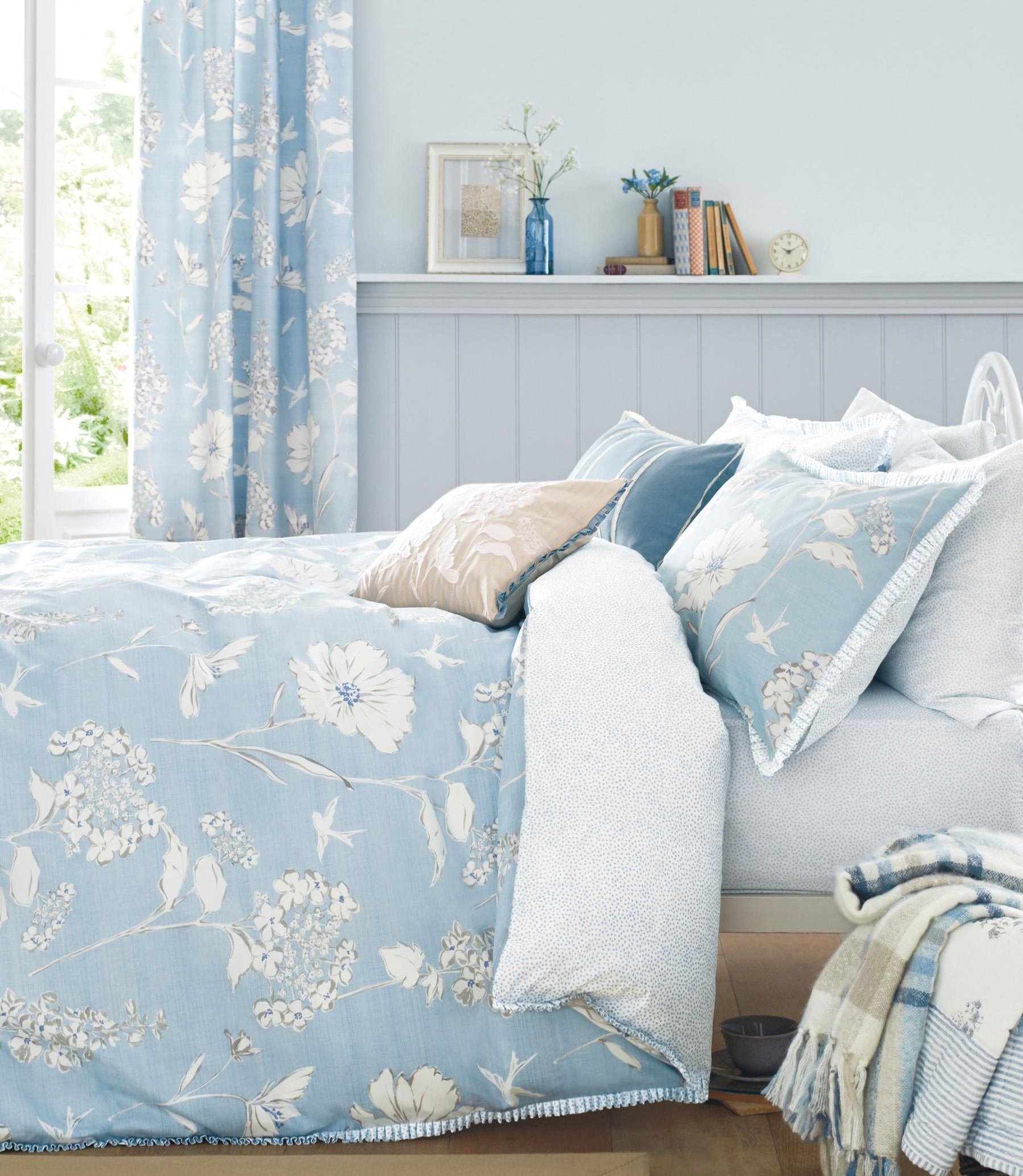 Buy Cotton Rich Delicate Floral Bed Set from the Next UK