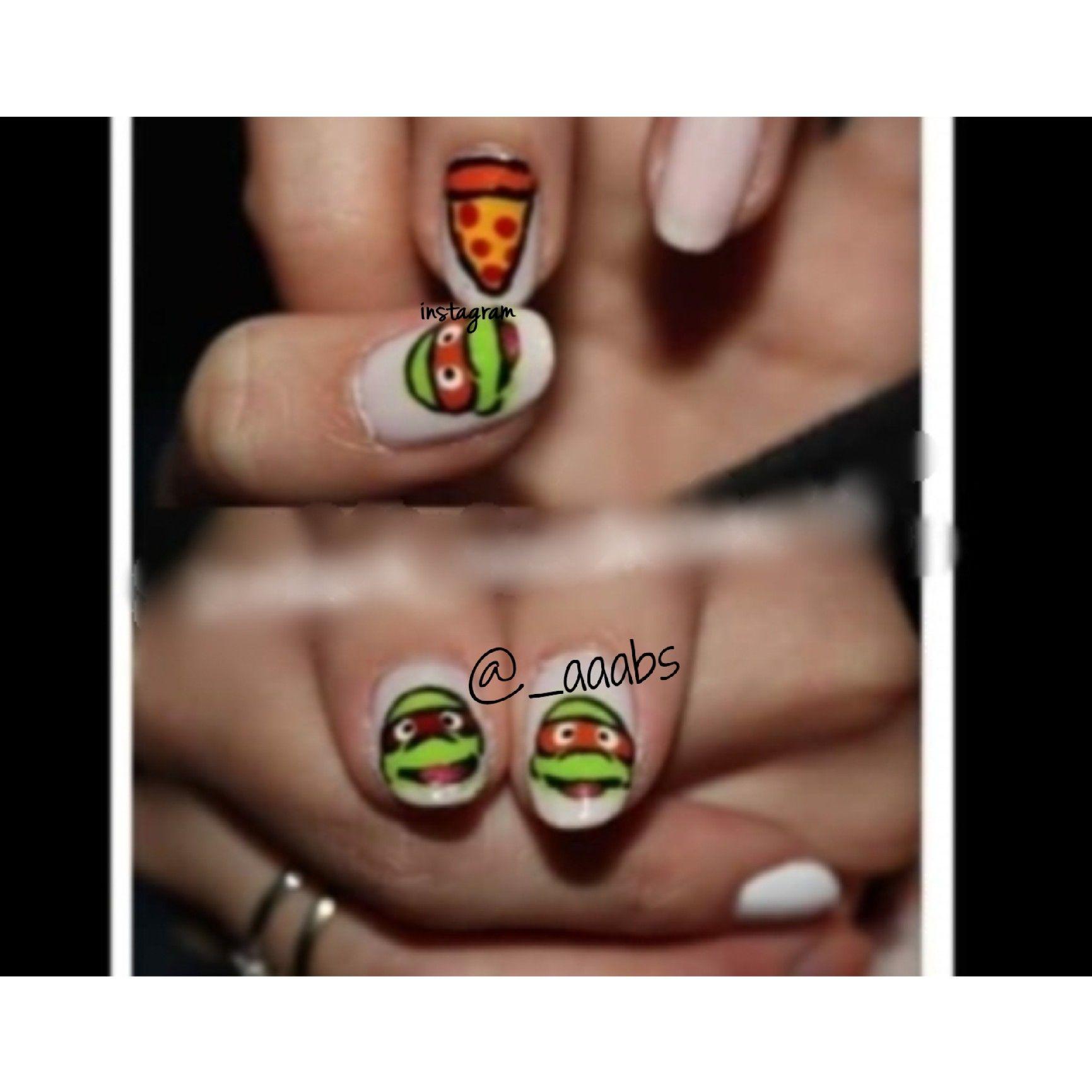 Unique Ninja Turtle Nails Photos - Nail Art Design Ideas ...