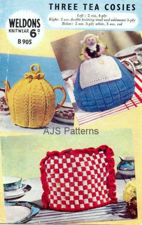dutch girl tea cozy   ... for 3 1940s Tea Cozies Cosies Including a ...