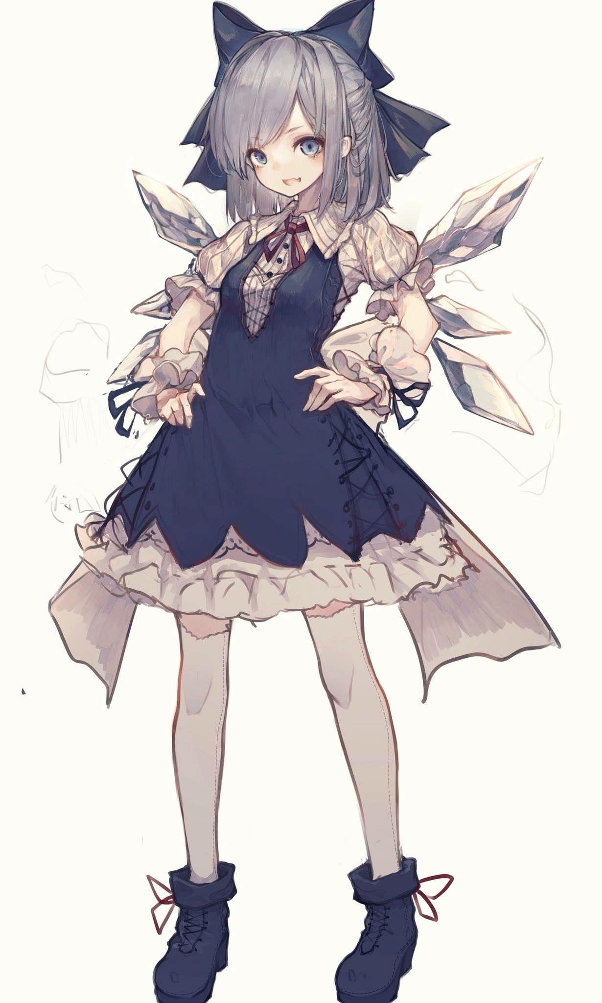 lolis おしゃれまとめの人気アイデア pinterest george pearson かわいいアニメガール 女の子イラスト 東方 かわいい