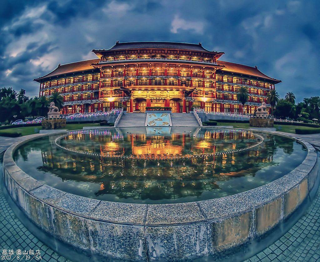 2017/8/19   Grand hotel. House styles. Taiwan