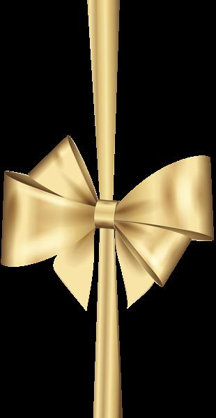 Gold Deco Bow Png Clip Art In 2020 Clip Art Bow Wallpaper Free Clip Art
