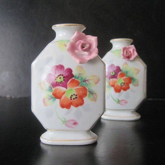 Vintage Vases From Meiko China Occupied Japan X 2 My Vintage Shops