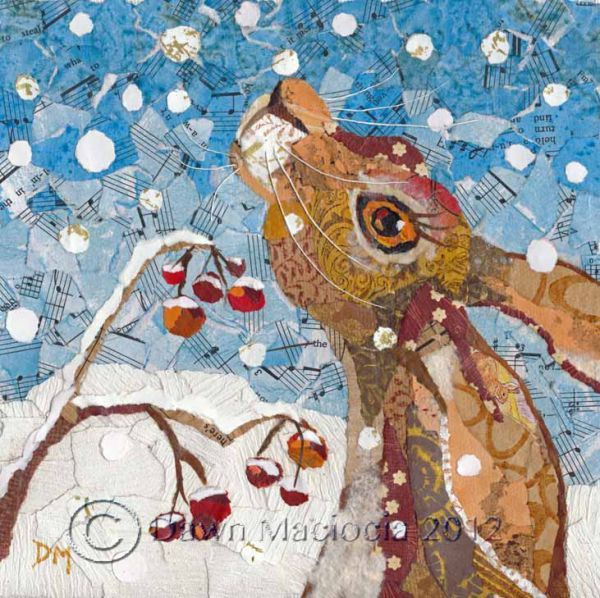Touched by Winter www.dawnmaciocia.com https://www.facebook.com/collagecreations