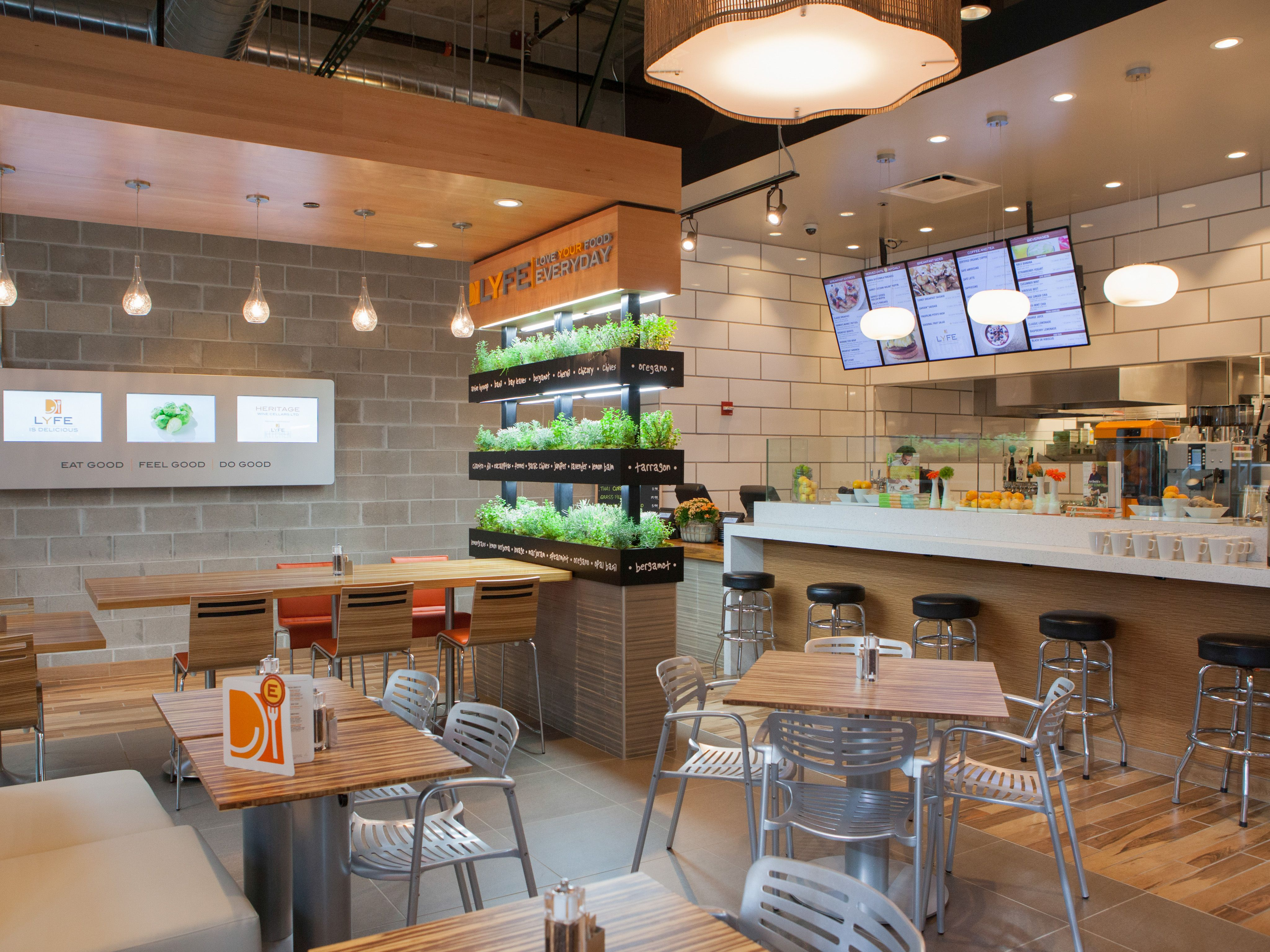 Best healthy fast food restaurant chains network