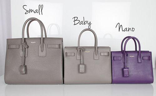11d147030d59 ysl nano sac de jour purple - bags, drawstring, leather, crochet, baby,  fashion bag  ad