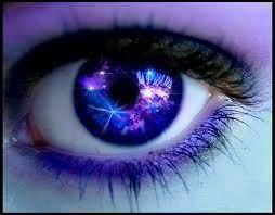 Pretty Purple Eyes Galaxy Eyes Aesthetic Eyes Gorgeous Eyes