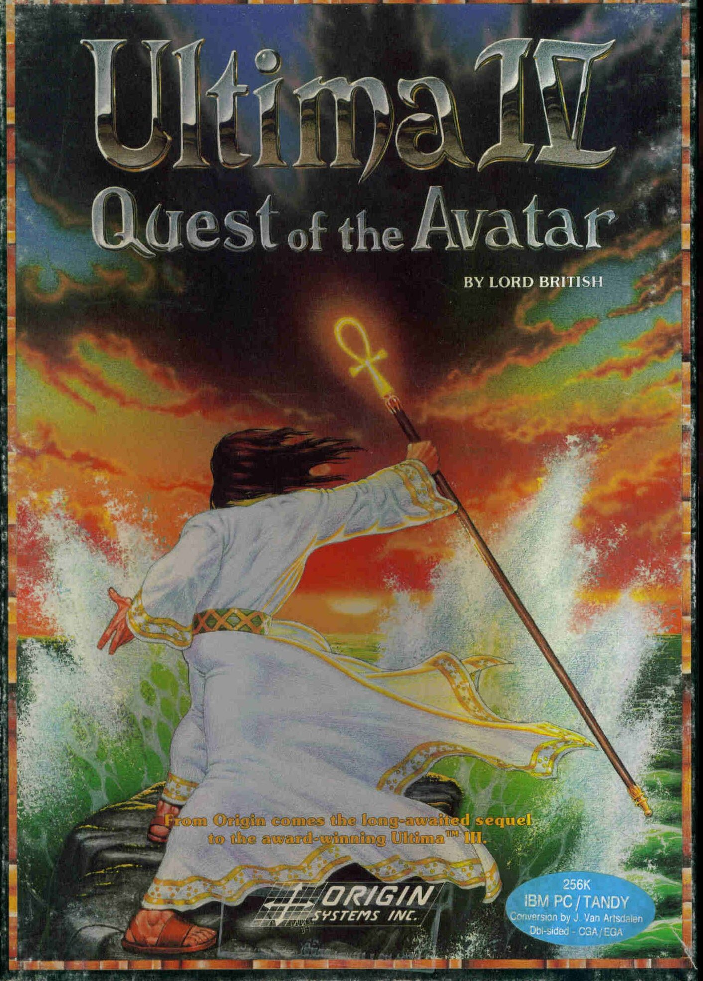 """""""Ultima IV Quest of the Avatar"""" Retro video games"""