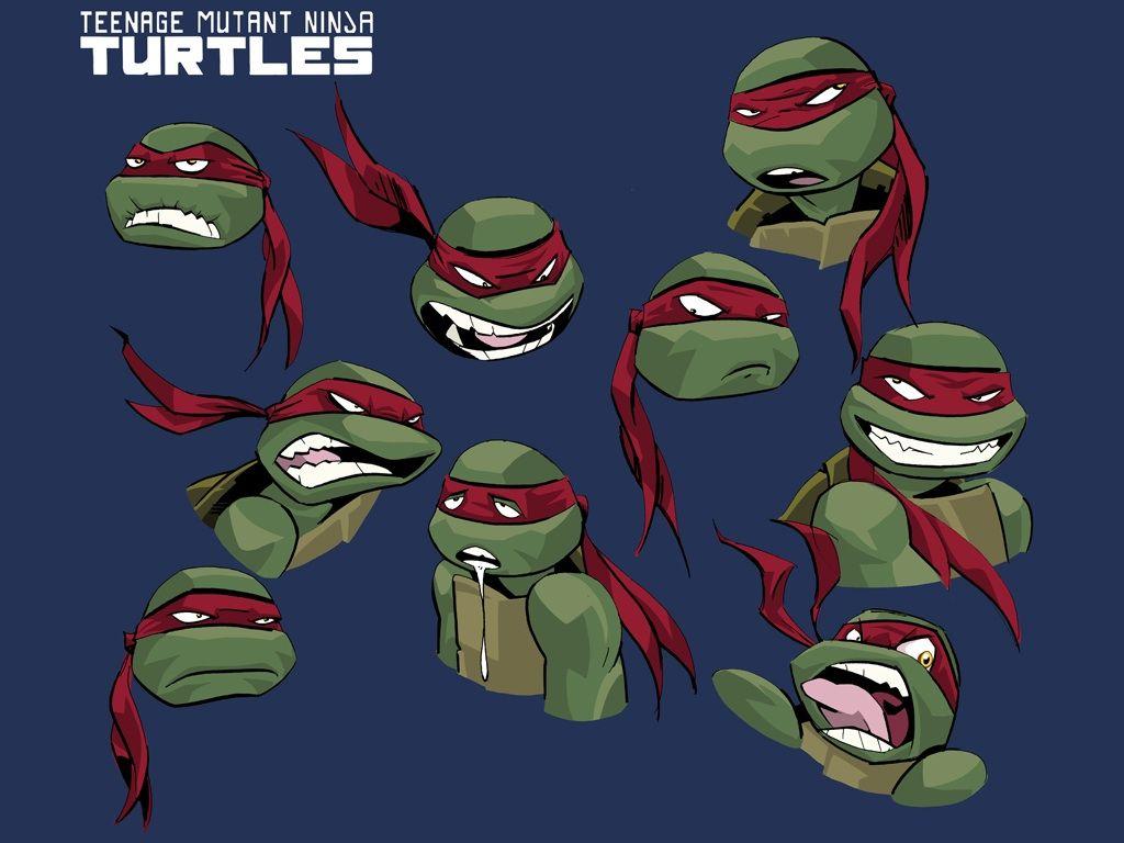 Expressions For Raphael Ninja Turtles Tmnt Teenage Mutant