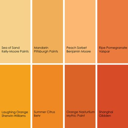 Orange Can Quickly Turn Pastel If You Opt For A Lighter Shade To Get More Sophisticated Looking And Dining Room Worthy Light Pick Hue That