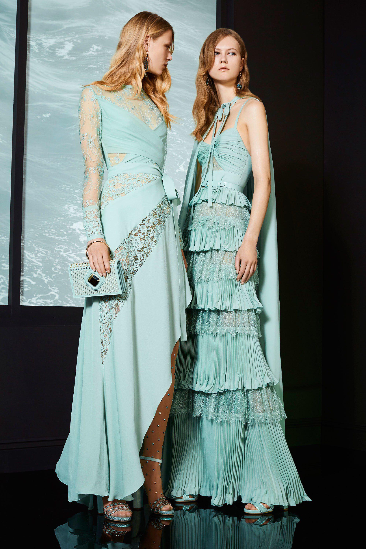 Elie Saab Resort 2018 Fashion Show   Vestiditos, Vestidos fiestas y ...