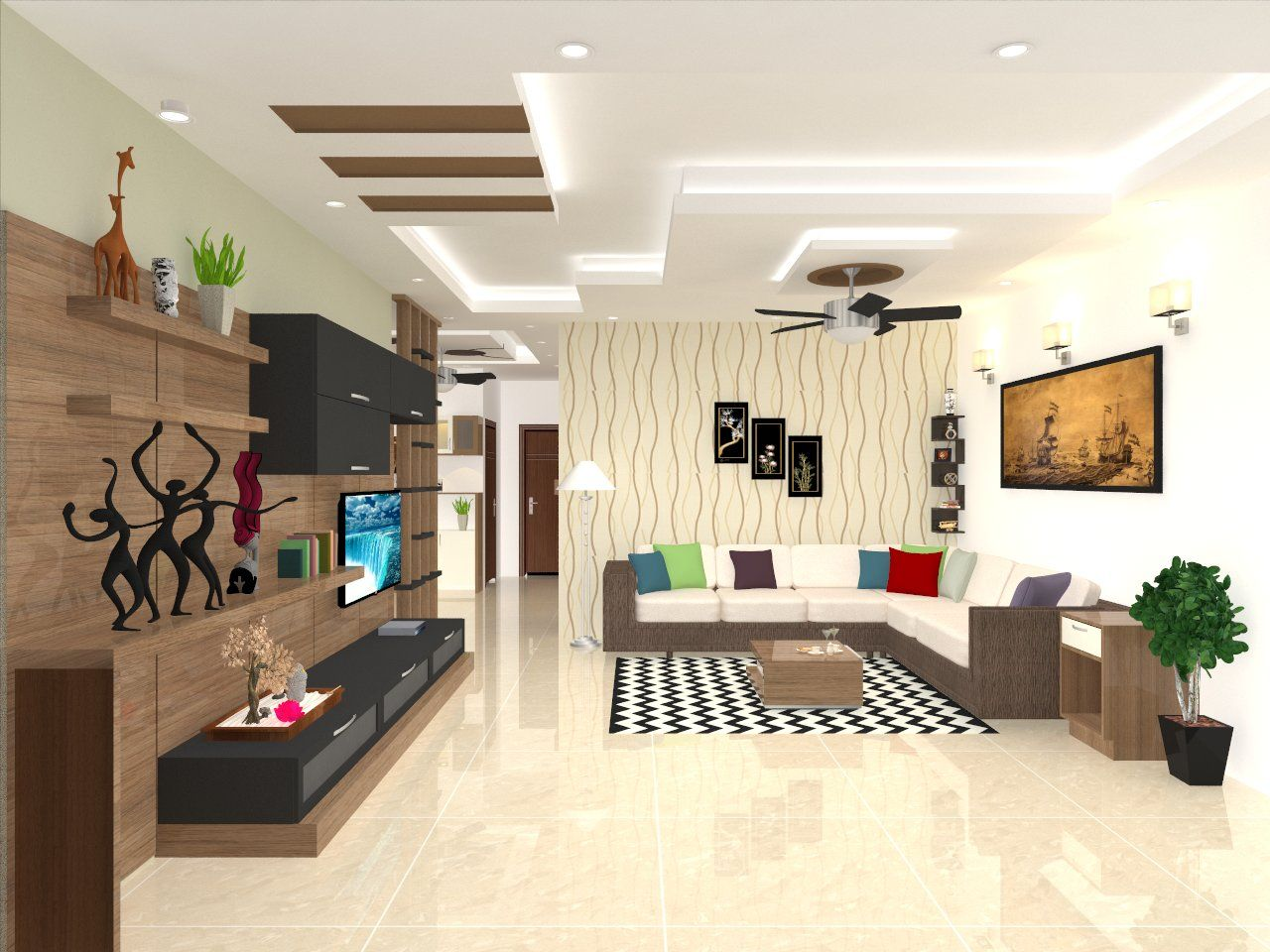 Interior Designers Interior Design Vizag Madhurawada Vijayawada Bedroom False Ceiling