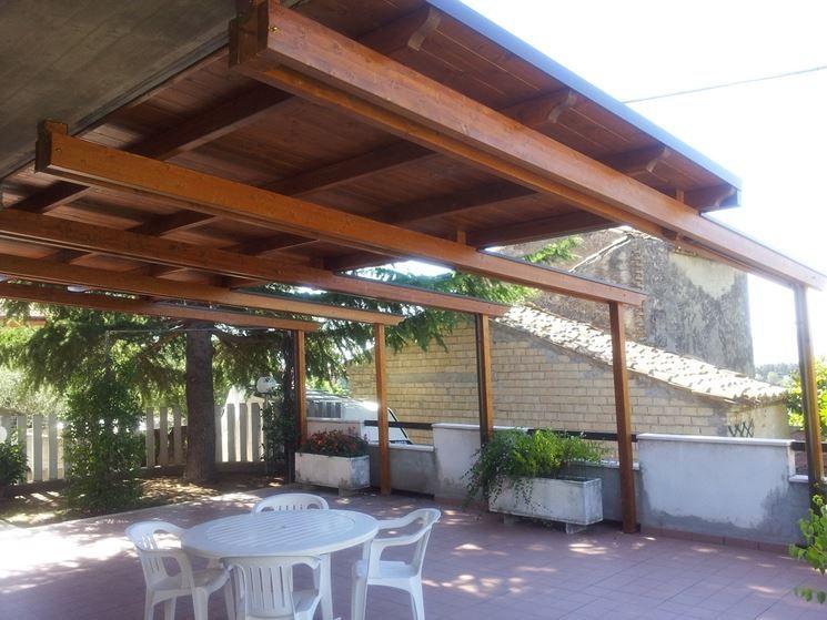 copertura su terrazzo | copertura terrazzo legno | Pinterest ...