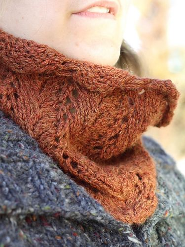 Ravelry: Fern Lace Cowl pattern by Jami Brynildson | Cowl ...