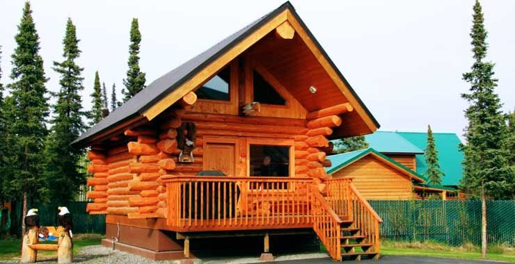 sale greeting featured card featuring alaska cabin jennifer the by in crites for cabins photograph wilderness