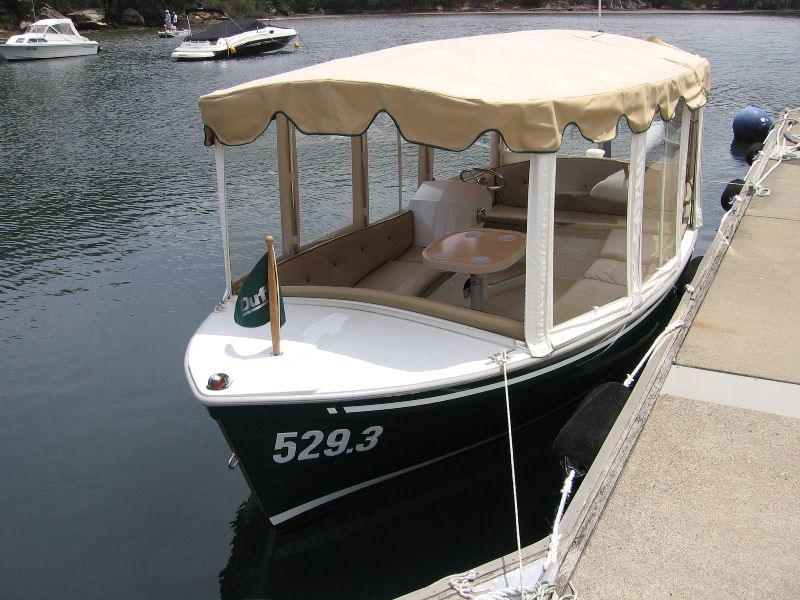 Duffy Boats Used Duffy Electric Boat 16 Classic