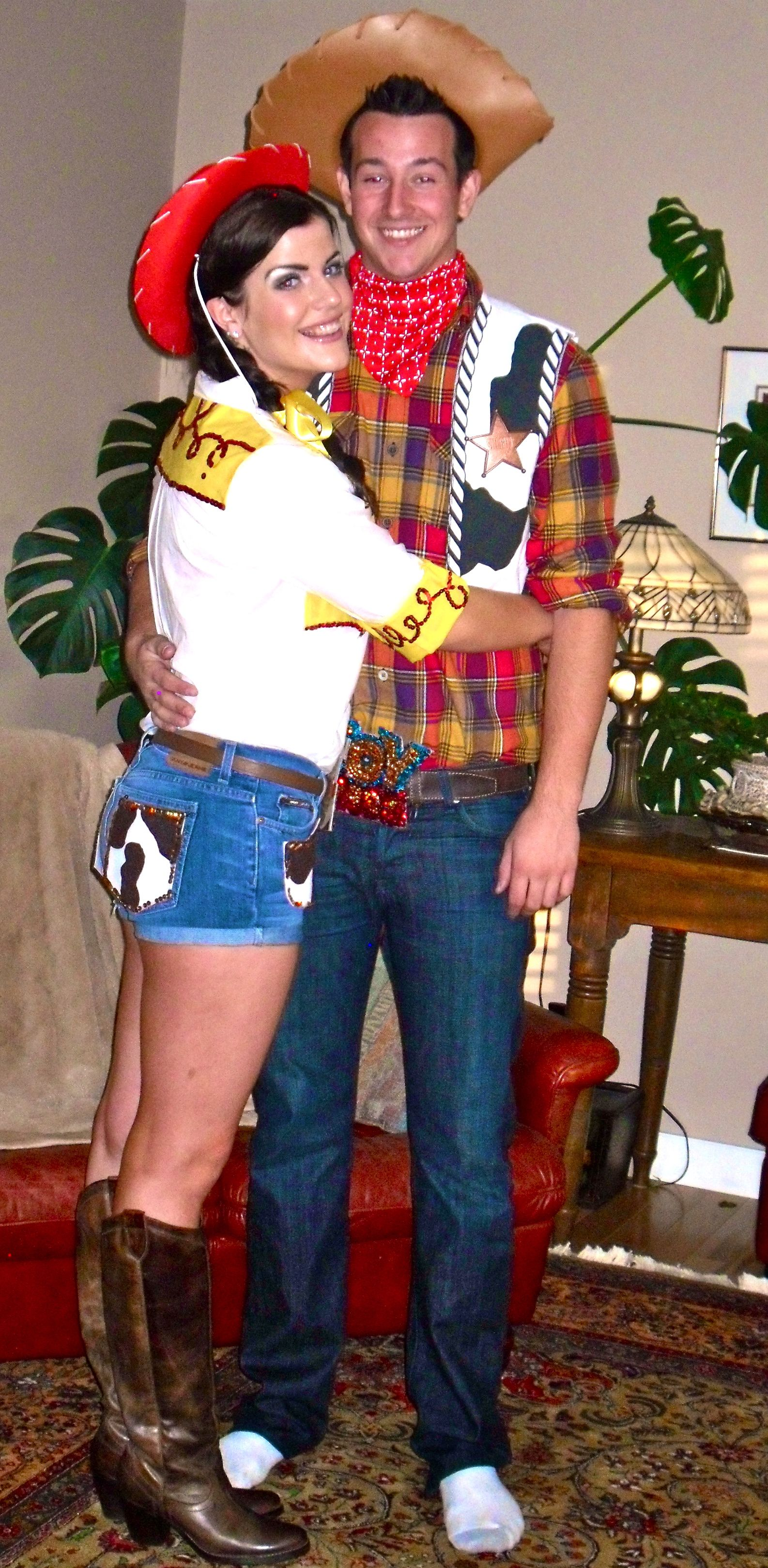 Woody & Jesse - my halloween costume 2 yrs ago (couples costume ...