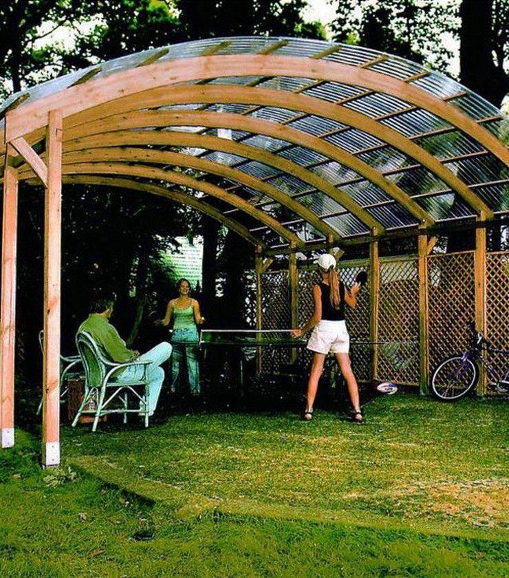 Image result for wooden carport PergolaInBackyard
