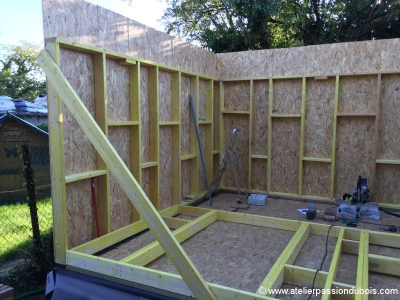 Construction Atelier Bois Part4 Atelier Passion Du Bois Shed Plans Building A Shed Shed Construction