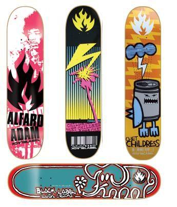 The 10 Best Companies That Create Skateboard Deck Designs Black Label Skateboards Create Skateboards Skateboard Design