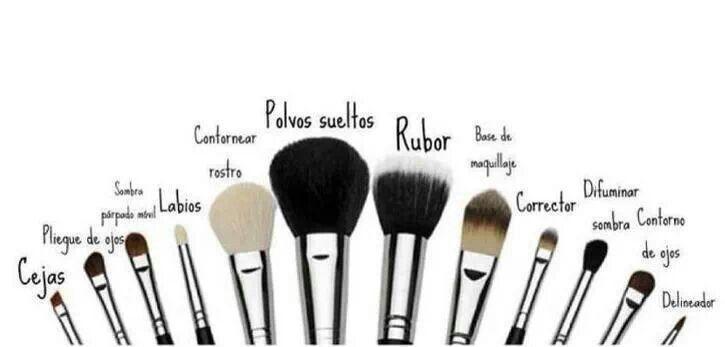 Brochetas para maquillar