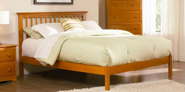 Assembly Instructions Of Bed Rails Slats Full Queen And E King Size Bed K Series Furniture Atlantic Furniture Home Decor