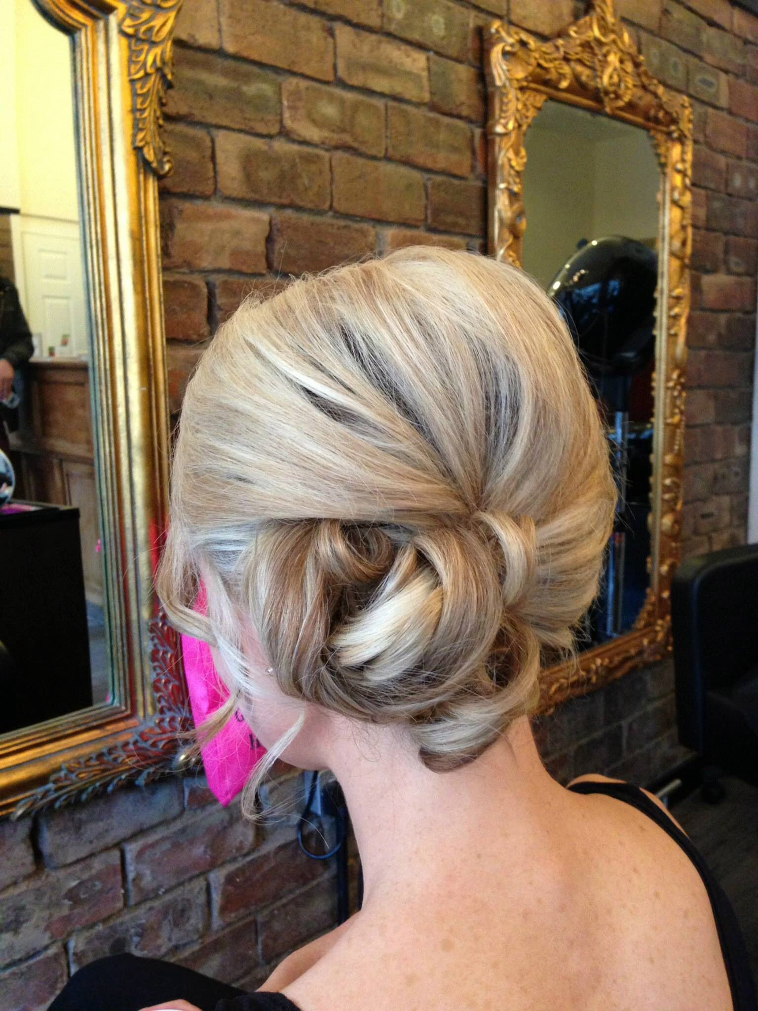 Hair and make up by Miss Barton's salon  #glasgow #westend #hairupdo #hair #colour #prom #bridal #blonde