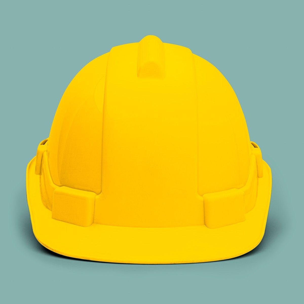 Yellow Hard Hat Hard Hat Hard Hats Hats