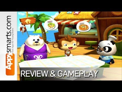 Dr. Panda's Restaurant 2 - demo and gameplay (iOS/Android app for kids) - YouTube