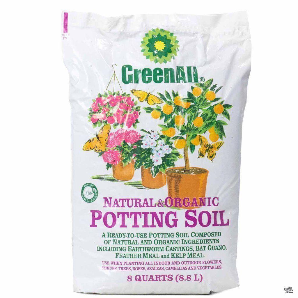 Greenall Natural Organic Potting Soil Natural Organic
