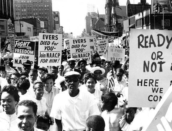 March To Freedom Detroit 1963 Detroit Flint Michigan Civil Rights