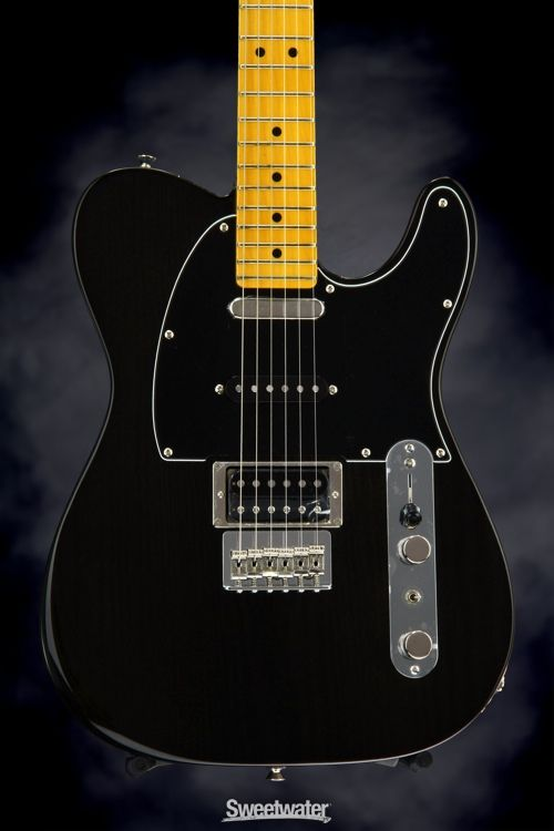 Fender Brad Paisley Road Worn Esquire Electric Guitar Black Sparkle Electric Guitar Guitar Telecaster